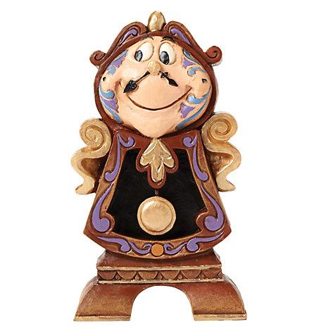 Disney Traditions Cogsworth Figurine