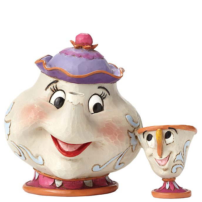 Disney Traditions Mrs Potts And Chip Figurine