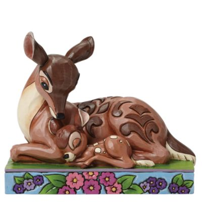 Disney Traditions Bambi And Mother Figurine