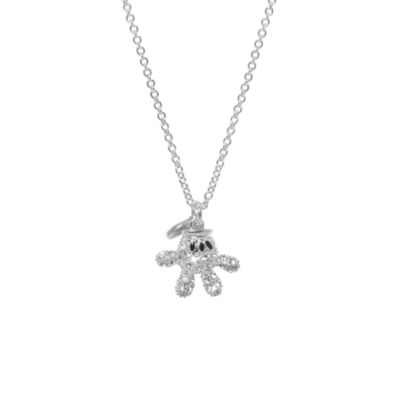 Mickey Mouse Glove Necklace, Arribas Jewelled Collection