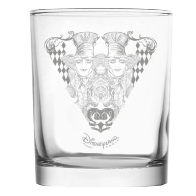 Mad Hatter Tumbler, Arribas Glass Collection