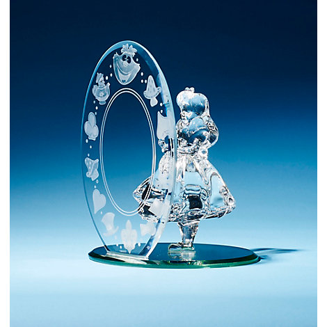 Alice In Wonderland Glass Figurine, Arribas Glass Collection