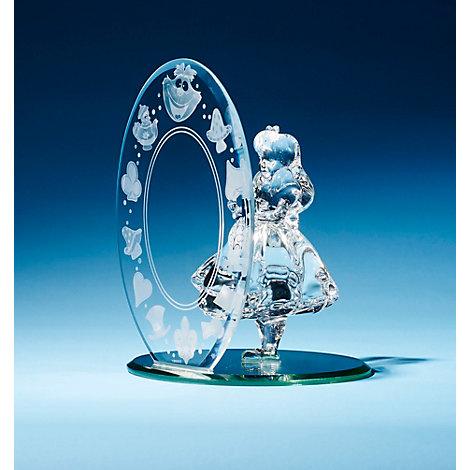 Alice In Wonderland Glass Figurine, Arribas Glass Collection