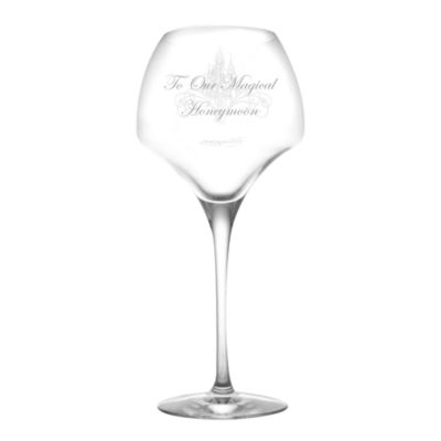 Disneyland Paris Large Wine Glass, Arribas Glass Collection