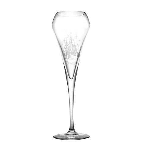 Disneyland Paris Brio Champagne Flute, Arribas Glass Collection
