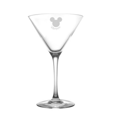 Mickey Mouse Cocktail Glass, Arribas Glass Collection