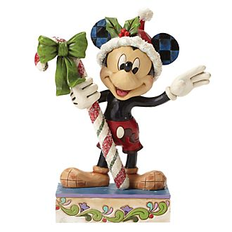 Disney Traditions Mickey Mouse Christmas Figurine
