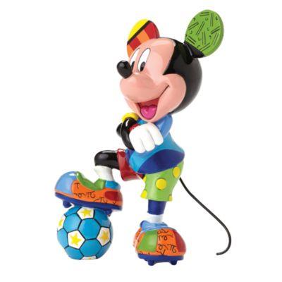 Britto Mickey Mouse Football Figurine