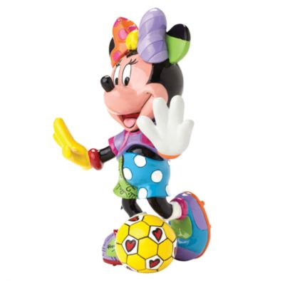 Britto Minnie Mouse Football Figurine