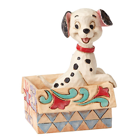 Disney Traditions Mini Lucky Figurine, 101 Dalmatians