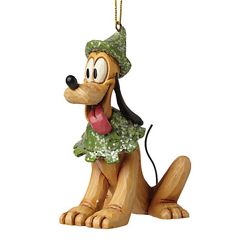 Disney Traditions Pluto Christmas Hanging Ornament