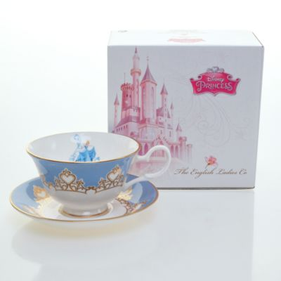 English Ladies Co. Bone China Cinderella Tea Cup and Saucer