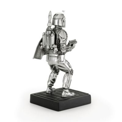 Star Wars, personaggio Boba Fett in peltro Royal Selangor