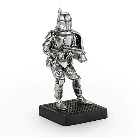 Figurine Boba Fett, Star Wars en étain Royal Selangor