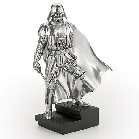 Figurine Dark Vador, Star Wars en étain Royal Selangor, en édition limitée