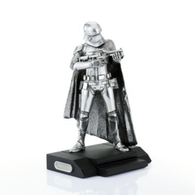 Figura peltre Royal Selangor Edición Limitada Capitán Phasma, Star Wars VII: El despertar de la Fuerza