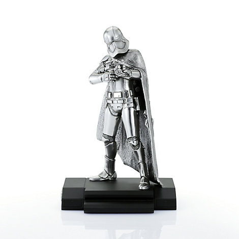 Royal Selangor Limited Edition Pewter Captain Phasma Figure, Star Wars: The Force Awakens