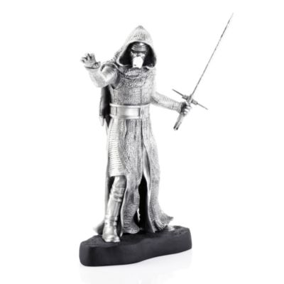 Kylo Ren figur i Royal Selangor tin, Star Wars: The Force Awakens, begrænset antal