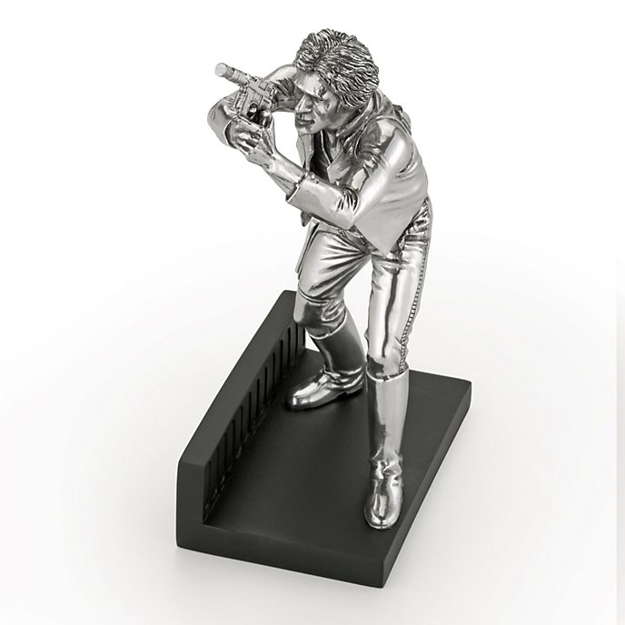 Star Wars Limited Edition Royal Selangor Pewter Han Solo Figure