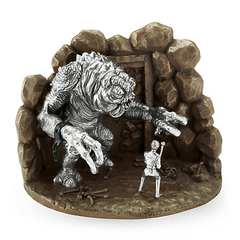 Royal Selangor Limited Edition Luke Vs. Rancor Pewter Diorama, Star Wars: Return of the Jedi