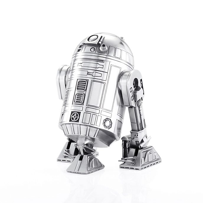 Star Wars Royal Selangor Pewter R2-D2 Canister