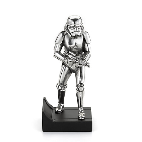 Star Wars, personaggio Stormtrooper in peltro Royal Selangor, edizione limitata