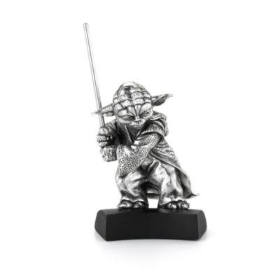 Figurine Yoda, Star Wars en étain Royal Selangor