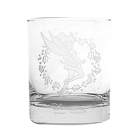 Arribas Glass Collection, Christmas Tinker Bell Glass Tumbler