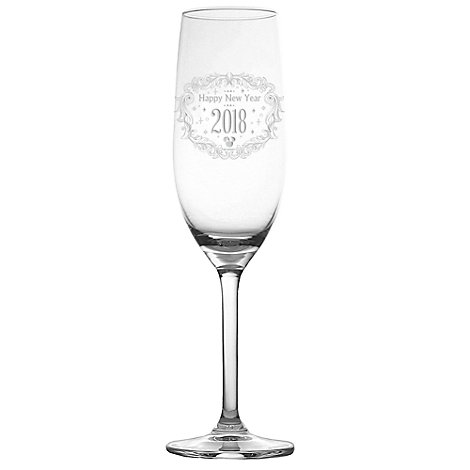 Arribas Glass Collection, New Year 2017 Minnie Mouse Champagne Flute