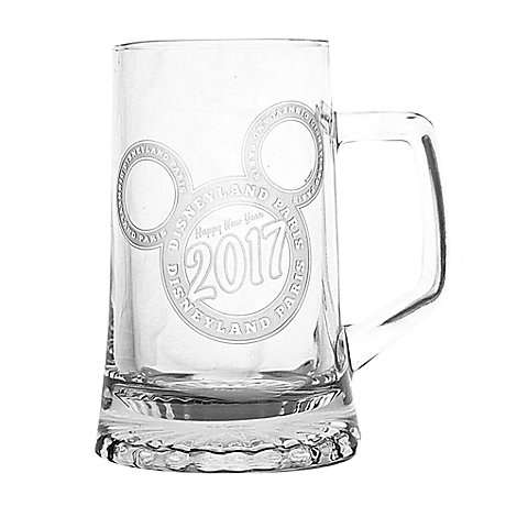 Arribas Glass Collection, New Year 2017 Beer Mug