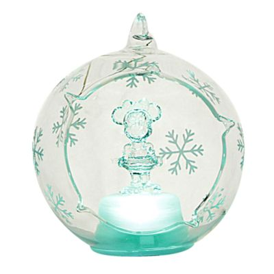 Arribas Glass Collection, Minnie Mouse Christmas Decoration