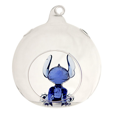 Arribas Glass Collection, Stitch Christmas Decoration