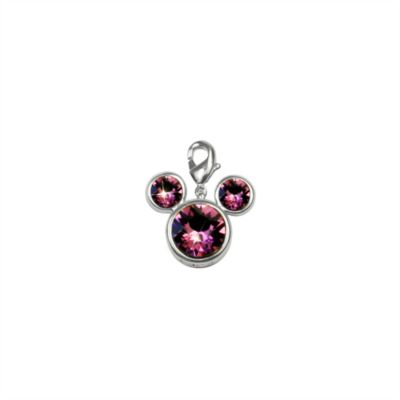 Arribas Brothers Mickey Mouse Birthstone Charm, January