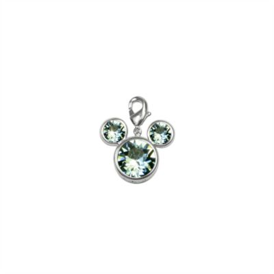 Arribas Brothers Mickey Mouse Birthstone Charm, March