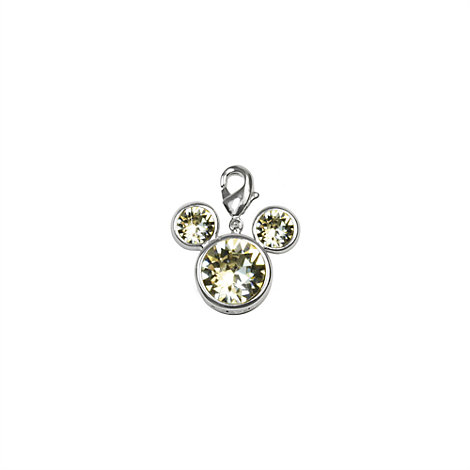 Arribas Brothers Mickey Mouse Birthstone Charm, April