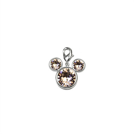 Arribas Brothers Mickey Mouse Birthstone Charm, June