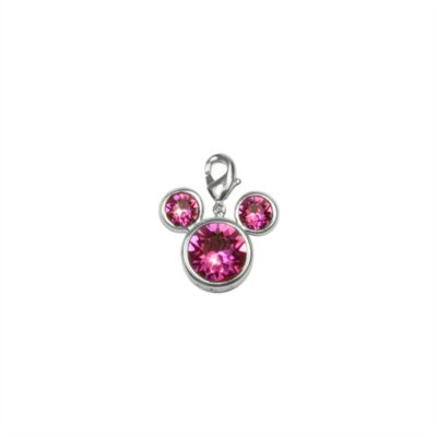 Arribas Brothers Mickey Mouse Birthstone Charm, July