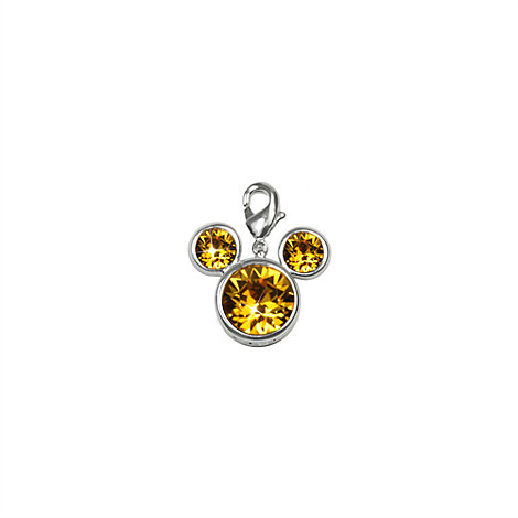 Arribas Brothers Mickey Mouse Birthstone Charm, November