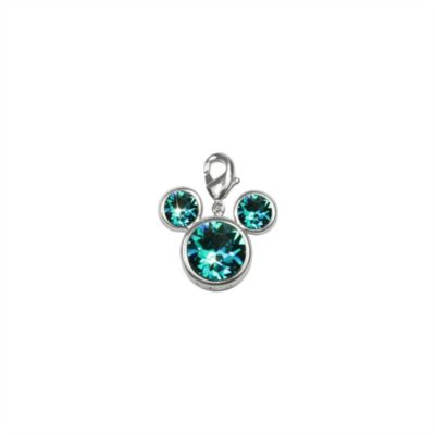 Arribas Brothers Mickey Mouse Birthstone Charm, December