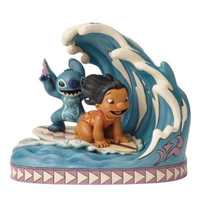 Disney Traditions Lilo and Stitch 15th Anniversary Figurine