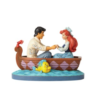Disney Traditions The Little Mermaid 'Waiting for a Kiss' Figurine