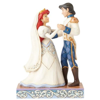 Disney Traditions The Little Mermaid 'Wedded Bliss' Figurine