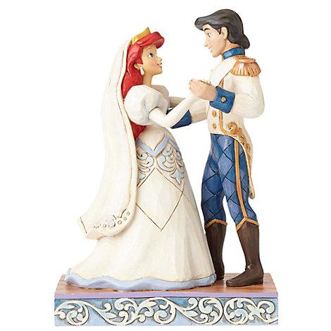 Disney Traditions The Little Mermaid 'Wedded Bliss' Figurine