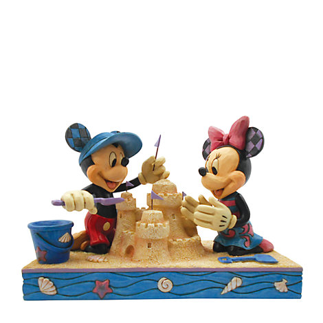 Disney Traditions Mickey and Minnie 'Seaside Sweethearts' Large Figurine