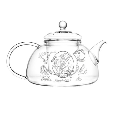 Arribas Glass Collection, Beauty And The Beast Teapot