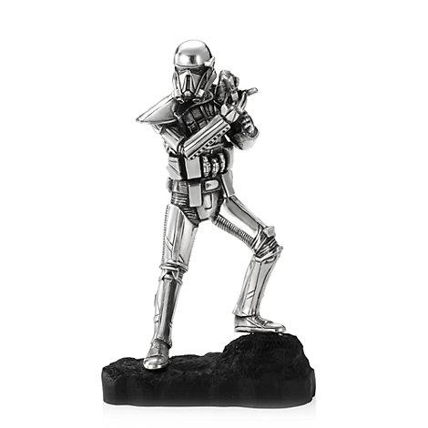 Royal Selangor Pewter Death Trooper Figure, Rogue One: A Star Wars Story