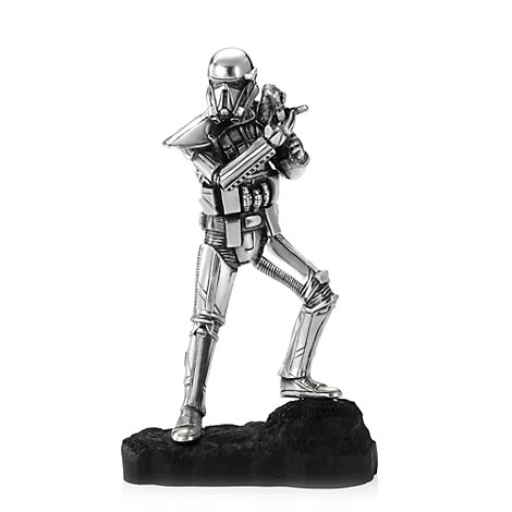 royal selangor pewter death trooper figure rogue one a. Black Bedroom Furniture Sets. Home Design Ideas