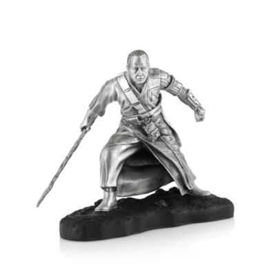 Limited Edition Royal Selangor Pewter Chirrut Îmwe Figure, Rogue One: A Star Wars Story