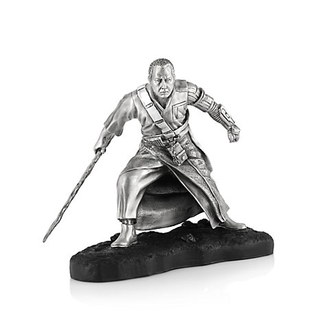 Rogue One: A Star Wars Story, personaggio Chirrut Imwe in peltro Royal Selangor, edizione limitata