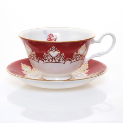 English Ladies Co. Bone China Ariel Teacup and Saucer